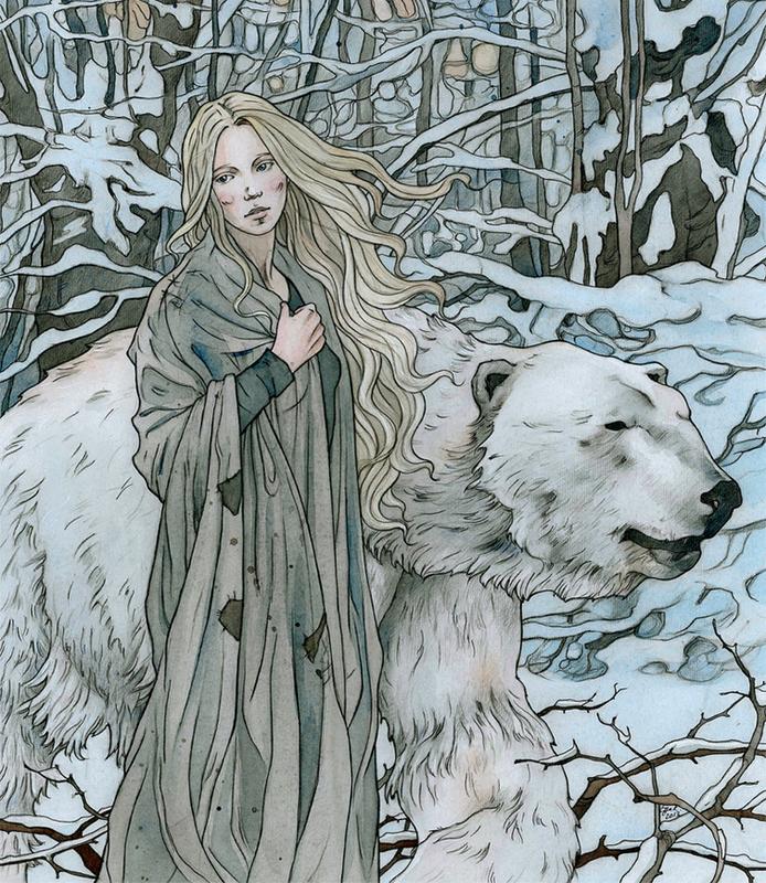 Little Mae and Polar Bear (2/6)