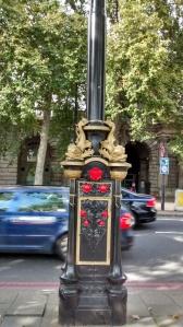 fancy lamp post