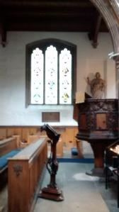 fabulous wood pulpit