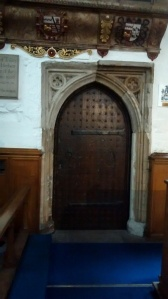 The door Samuel  and Elizabeth used to enter  by.