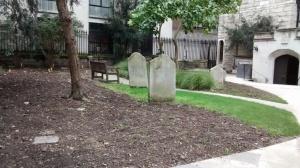 St Olave's grave yard