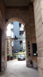 This was once  the entrance  to London Bridge