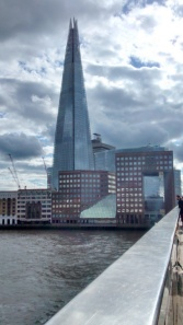 The Shard  by the river