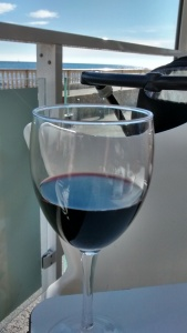 Sun  Sea and wine