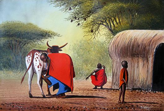 wanjeri-maasai family
