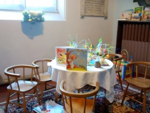 Still  an Easter Table  for the children