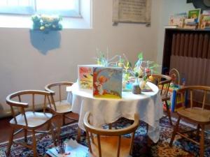 Still  an Easter Table  for the children