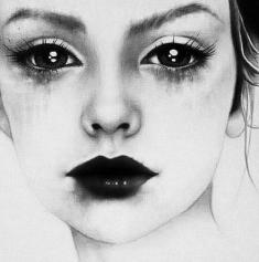 art-black-cry-dark-eyes-favim-com-427813