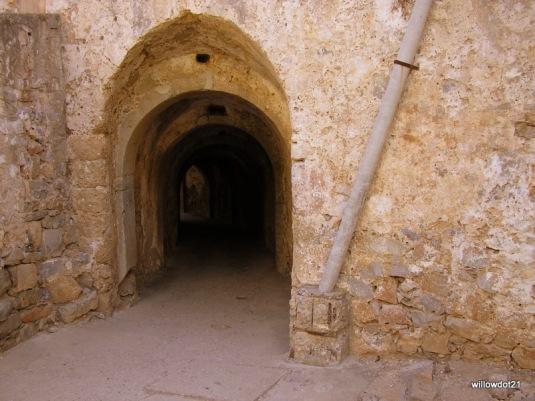 a daunting entrance
